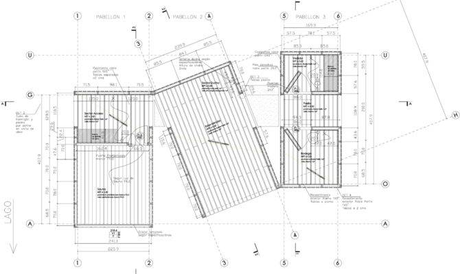 Sauna Ranco Small Structure Panorama Chile Floor Plan