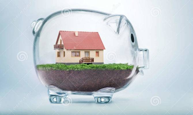 Saving Buy House Home Savings Concept
