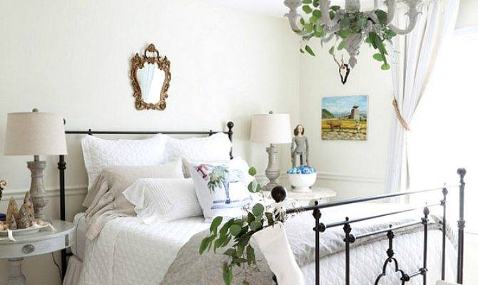 Savvy Southern Style French Country Christmas Guest Bedroom