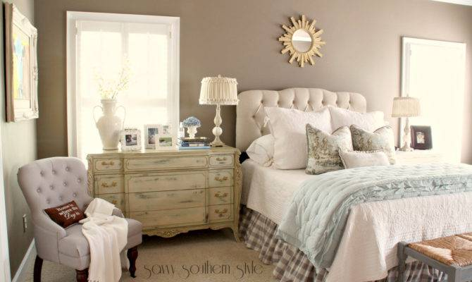 Savvy Southern Style Musical Chairs Master Bedroom