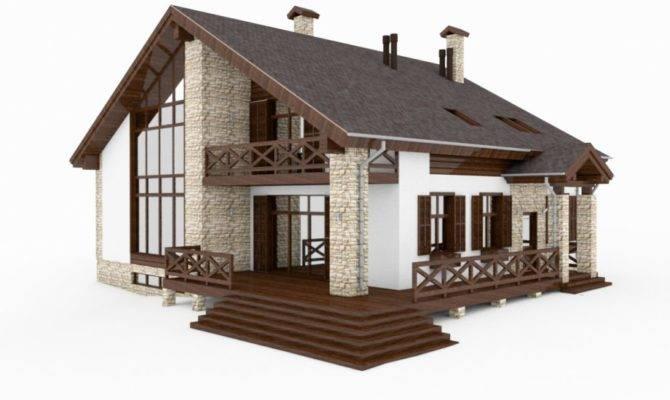 Scale Model Modern House