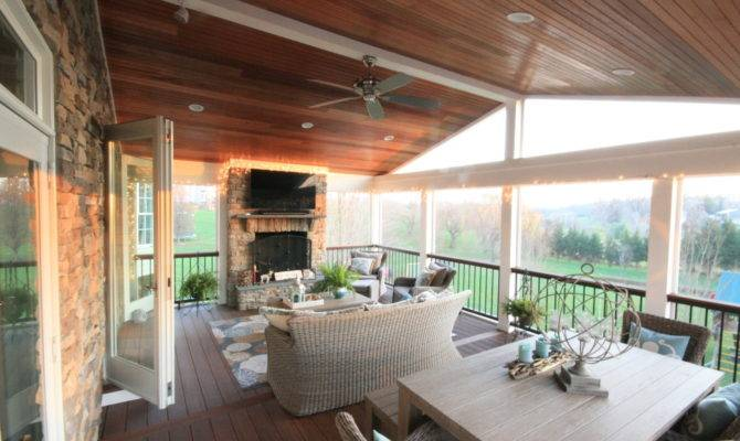 Screen Porch Design Ideas Maryland