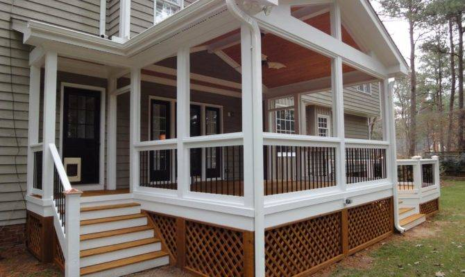 Stunning Screened In Deck Designs Ideas
