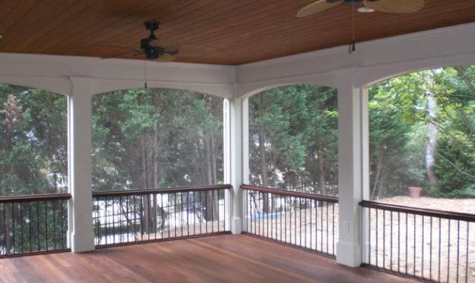 Screened Back Porches Traditional Porch Atlanta