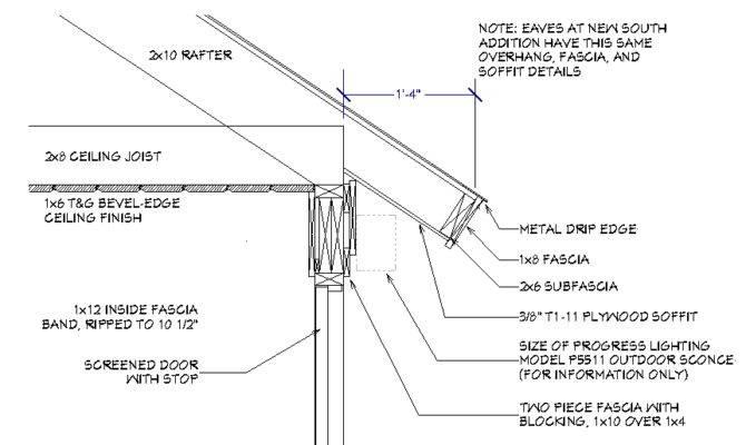Screened Porch Frame Design Architecture Contractor Talk