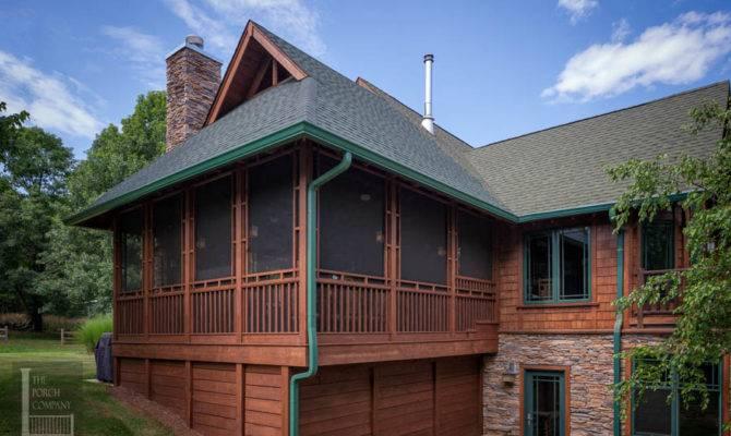Screened Porch Gable Roof Unique Details