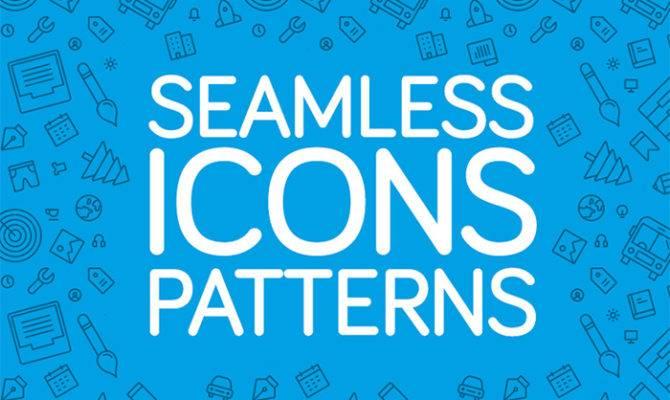 Seamless Icon Patterns Designers Hongkiat