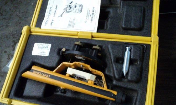 Sears Craftsman Transit Level Case