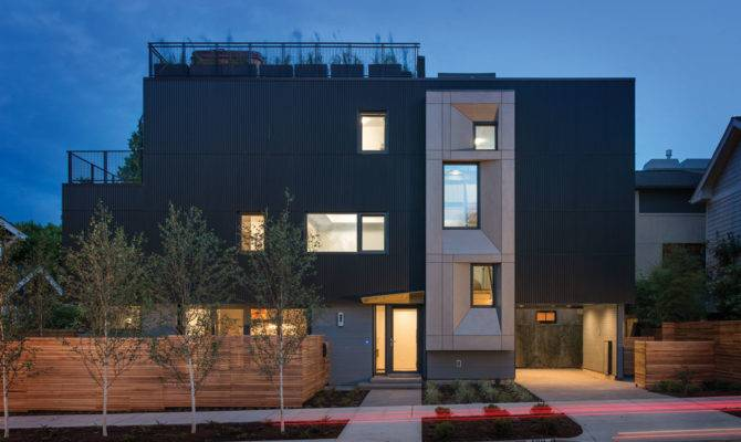 Seattle First Certified Passive House Modern