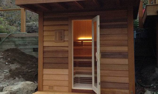 Seattle Outdoor Sauna Design Store Sales Olympic Hot Tub