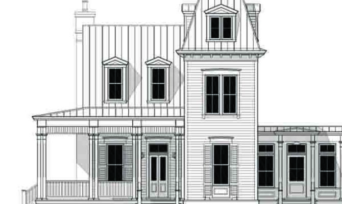 Second Empire Architecture House Plans Home Style