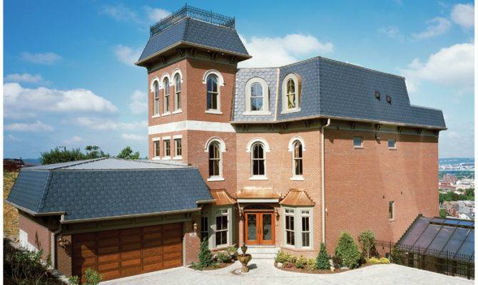 Second Empire Home Plans Designs