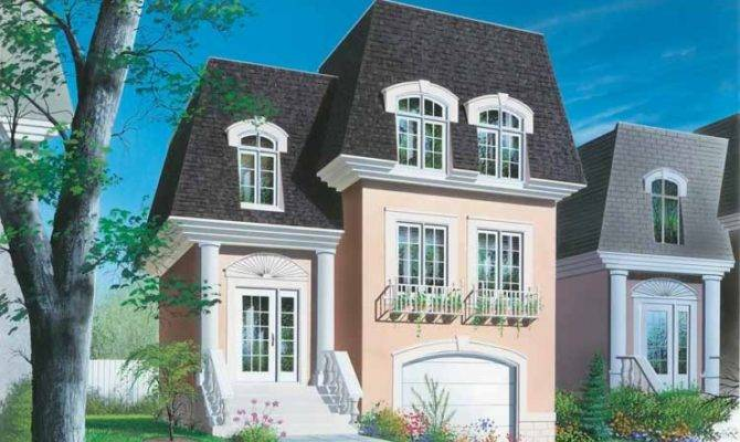 Second Empire House Plan Square Feet Bedrooms