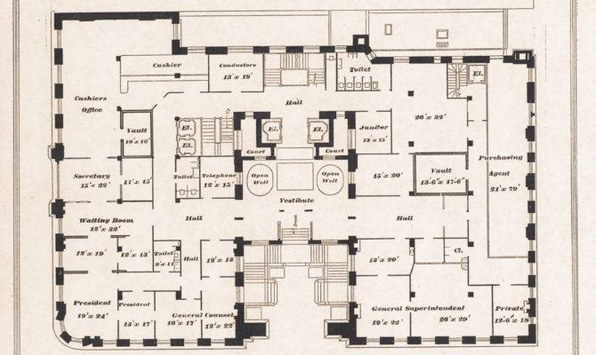 Second Empire House Plans Pullman Building Floor