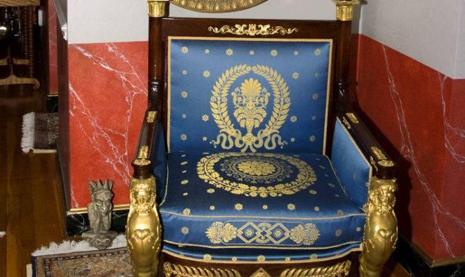 Second Empire Throne Chair Jeffrey Lant Trust