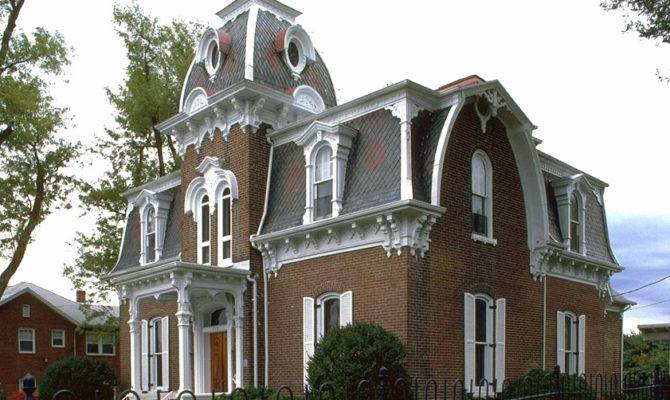 Second Empire Victorian Home Plans