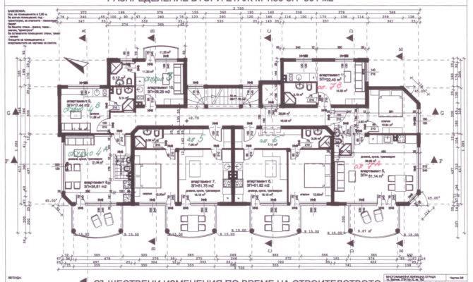 Second Floor Architectural Plan