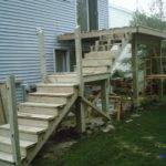 Second Floor Deck Rehab Stairs
