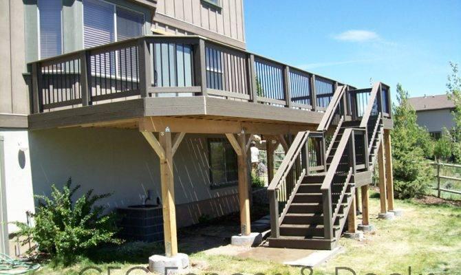 Second Floor Deck Trex Decking Story