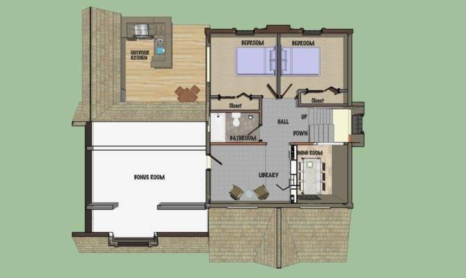 Second Floor Plan Loft