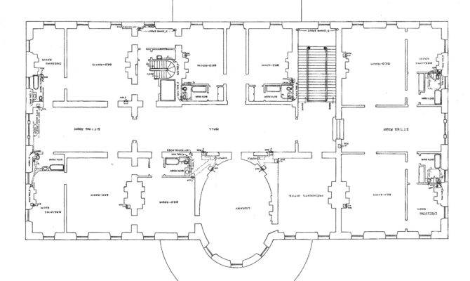 Second Floor Plan White House After Remodeling