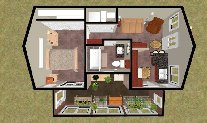 Secret Rooms House Plans Cozyhomeplans Small
