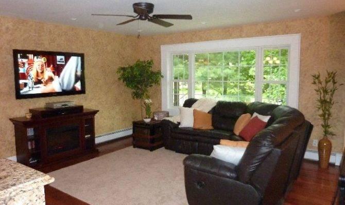 Sectional Living Room Pinterest