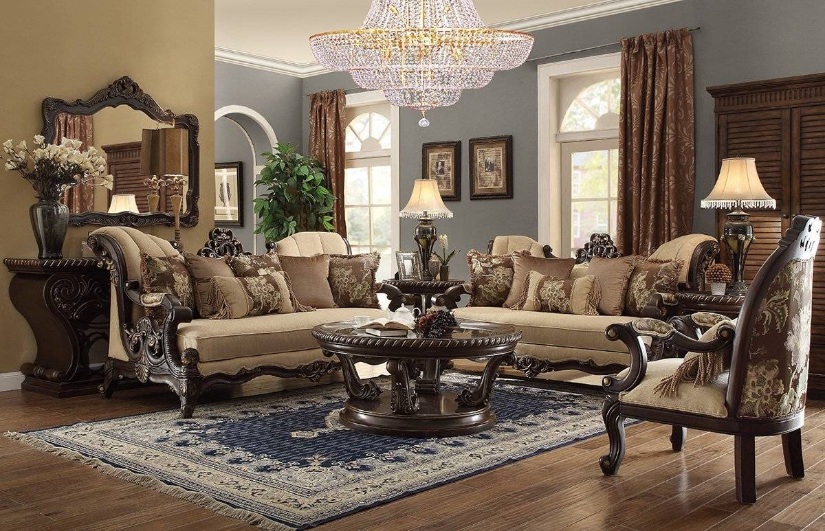 Craftmaster 736400 Stationary Living Room Group - Wolf ...