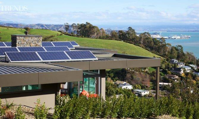 Self Sufficient Substantial Home Positive Energy