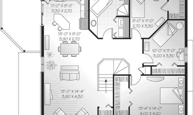 Selman Duplex Home Plan House Plans