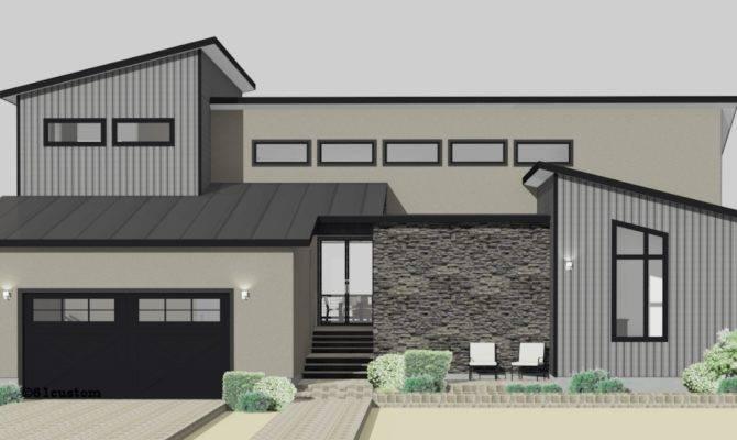 Semi Custom Home Plans Modern