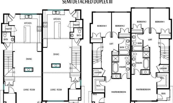 Semi Detached Floor Plans Thefloors