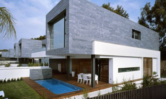 Semi Detached Homes United Matching Contemporary Architecture