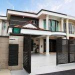 Semi Detached House Exterior Design Malaysia Front