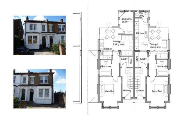 Semi Detached House Layout Plan Home Deco Plans