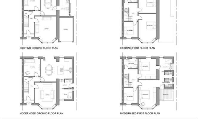 Semi Detached House Side Extension Ideas Joy Studio