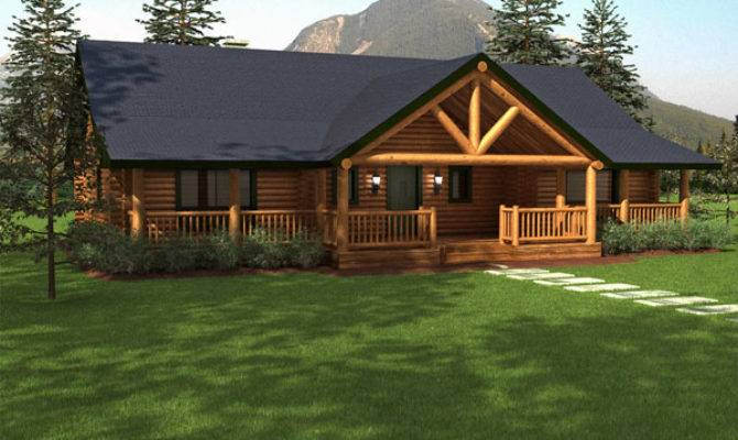 Sequoia Log Home Floor Plan Duncanwoods Timber Homes