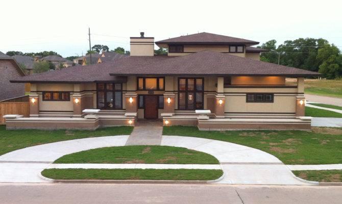 Services Houston Texas Frank Lloyd Wright Inspired Custom Home