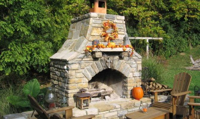 Several Ideas Having Best Outdoor Fireplace