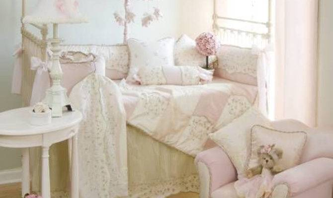 Shabby Chic Baby Nursery Pink Decor