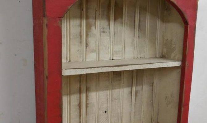 Shabby Style Wall Shelf Primitive Shelffrench Country