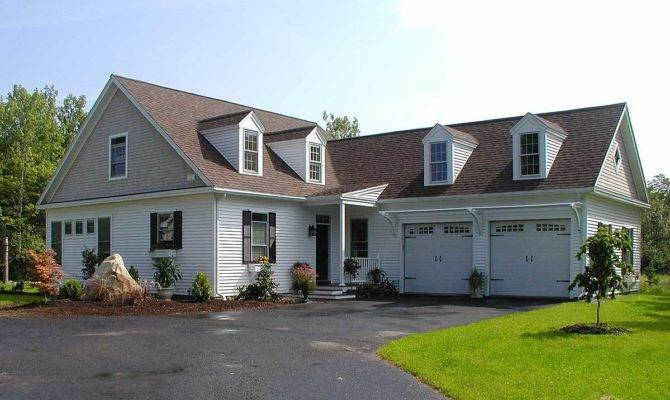Shaped Cape Cod Home Plan Architectural