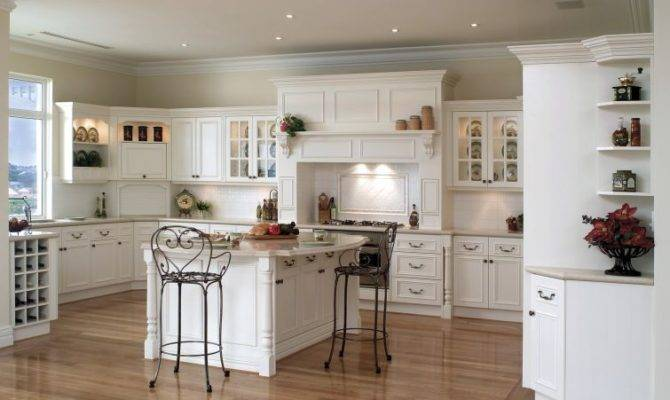 Shaped Country Kitchens Clippings Shape Kitchen Allows