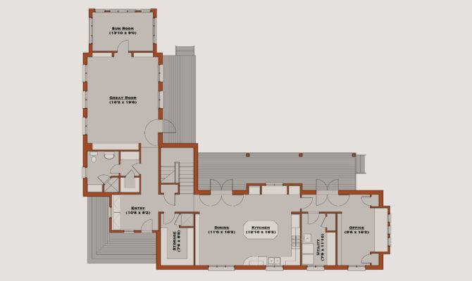 Shaped House Plans Home Design Simple