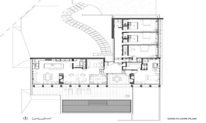 Shaped House Plans Waterfront Plan