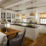 Shaped Kitchen Floor Plans Island