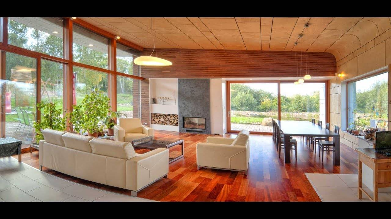 Shaped Modern House Design Hillside Unusual