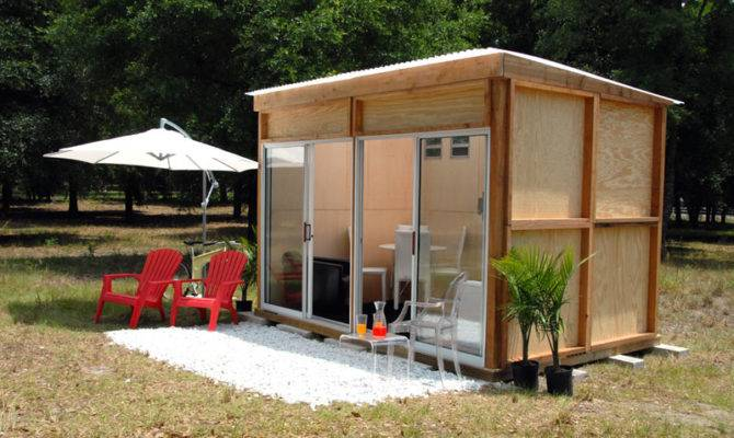 Shed Blueprints Modern Backyard Designs