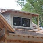 Shed Dormer Front House Completed Last Week