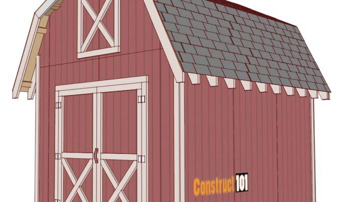 Shed Plans Gambrel Construct